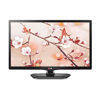 LG 20MT48AF-PT LED TV with Monitor - Hitam [20 inch]