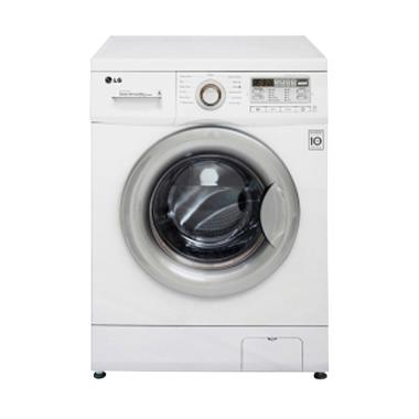 LG F8008NMCW Mesin Cuci [Front Loading/8 Kg]