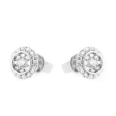 LINO P1508210086 Berlian Emas Putih Anting [18 K]