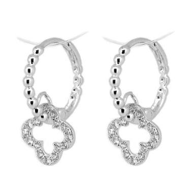 LINO Berlian Emas Putih P1508220015 Anting [18 K]