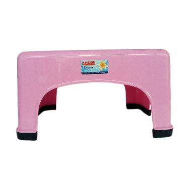 Lion Star Bangku Jongkok Persegi - Pink