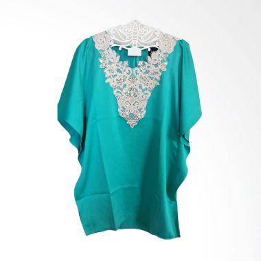 Little Superstar Caftan Green Baju Muslim Anak Perempuan