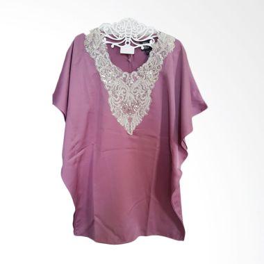 Little Superstar Caftan Purple Baju Muslim Anak Perempuan