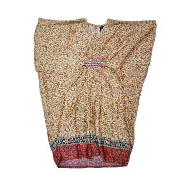 Little Superstar Fatimah Caftan Batik Dress Anak - Cream