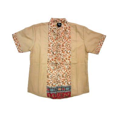 Little Superstar Shirt 2 Tone Lenga ... tik Koko Anak - Cream Red