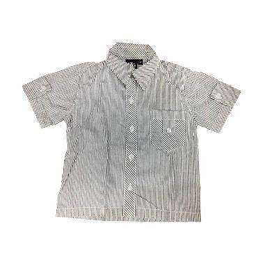 Little Superstar Sailor Shirt Pocket Atasan Anak Laki-Laki - Grey