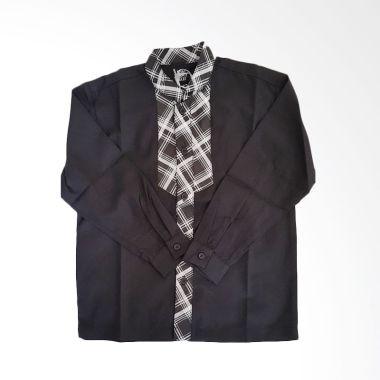 little-superstar_rama-checker-black-baju-muslim-anak_full01 Pakaian Muslim Dengan Celana Jeans Termurah dilengkapi dengan List Harganya untuk minggu ini