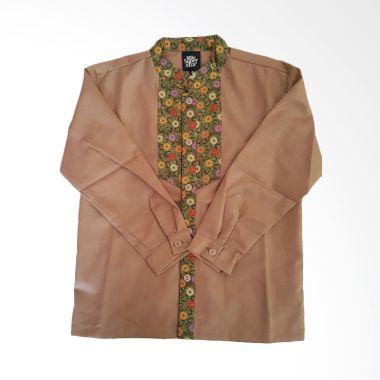 little-superstar_rama-flower-brown-baju-muslim-anak_full01 Pakaian Muslim Dengan Celana Jeans Termurah dilengkapi dengan List Harganya untuk minggu ini