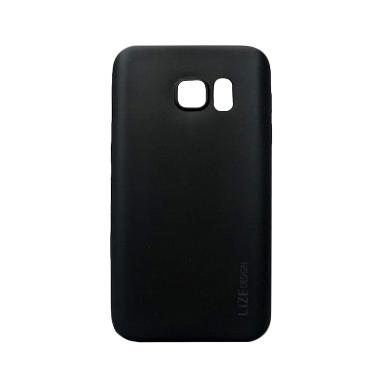 Lize Softshell Softcase Casing for Samsung Galaxy S7 Edge G935 - Black