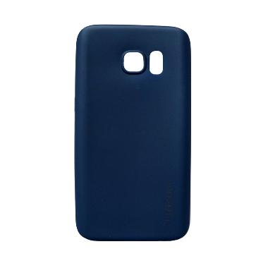 Lize Softshell Softcase Casing for Samsung Galaxy S7 Edge G935 - Dark Blue