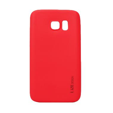 Lize Softshell Softcase Casing for Samsung Galaxy S7 Edge G935 - Red