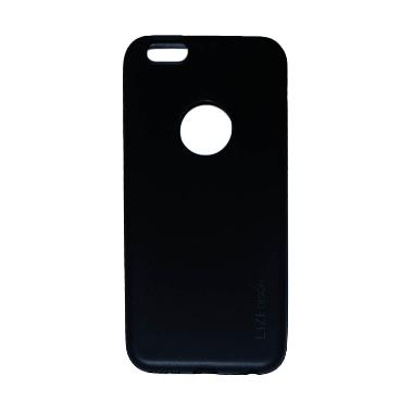 Lize Silicon Softcase Casing for iP ... SE Plus [5,5 Inch]- Black