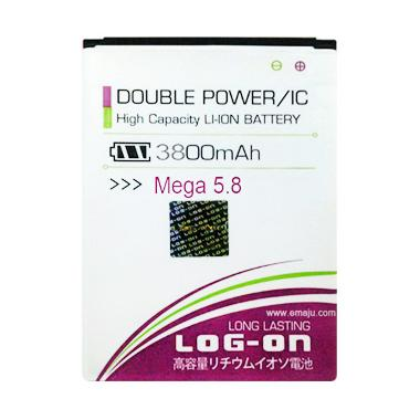 Log On Double Power Battery for Sam ... a 5.8 or i9152 [3800 mAh]
