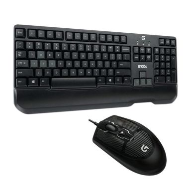 Logitech G100S Hitam Gaming Combo Keyboard and Mouse