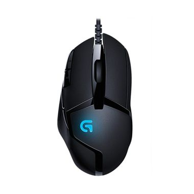 Logitech G402 Hyperion Fury Ultra Fast FPS Hitam Gaming Mouse