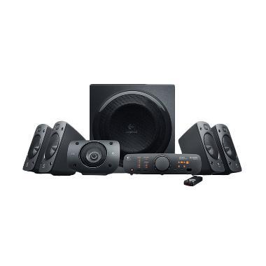 Logitech - Z906 Surround Sound System 5.1 Home Theater [980-000468]