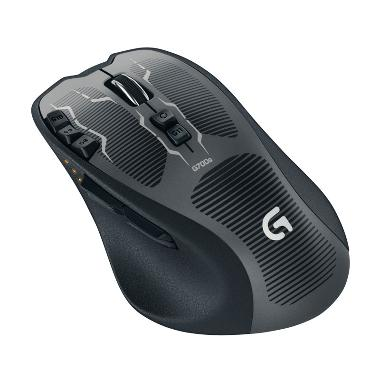 Logitech G700s Hitam Wireless Gaming Mouse