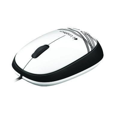 Logitech M105 White Mouse