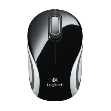 Logitech M187 Mini Black Wireless Mouse