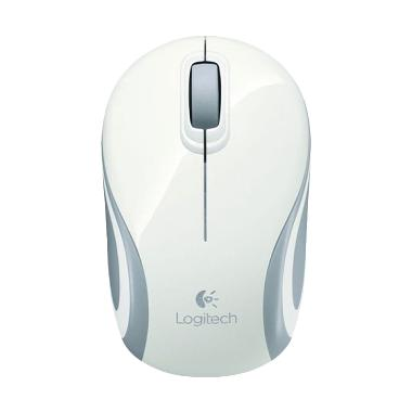 Logitech M187 White Wireless Mini Mouse