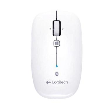 Logitech M557 Pearl White Bluetooth Mouse [910-003961]