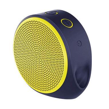 harga Logitech X100 Mobile Bluetooth Wireless Speaker - Yellow Blibli.com