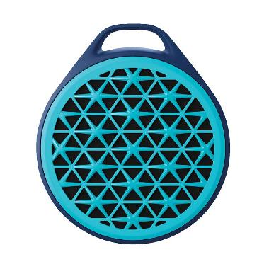 Logitech X50 Mobile Wireless Speaker - Biru