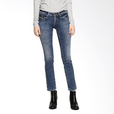 Lois Girl FT 18331 Straight Denim Fashion Pants - Blue Bottom