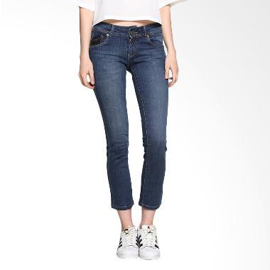 Lois Girl FT 19129 Straight Denim Fashion Pants - Blue Light Bottom