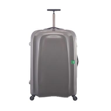 Lojel Lumo Koper Hardcase Extra Ringan Travel Bag- Grey [Large]