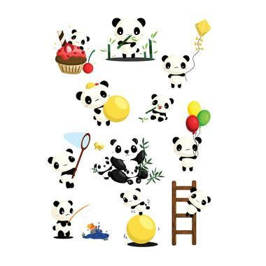 Lolitattoo Panda 2 LK0130 Tato Temporer