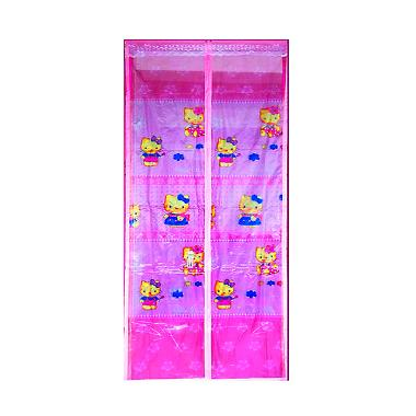 Lotusshops Hello Kitty [X] Exclusive Pink Tirai Pintu Magnet