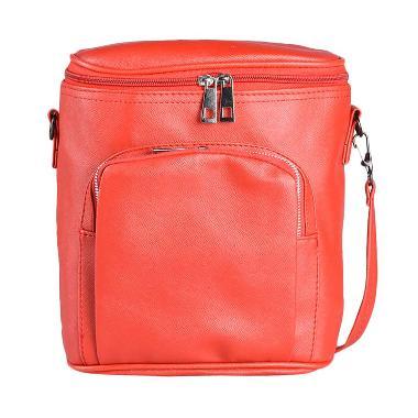 Louvre Paris Sling Backpack Tube BLI-001-027 Tas Selempang - Red