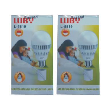 Luby Lampu LED Emergency [9 Watt/2 pcs]