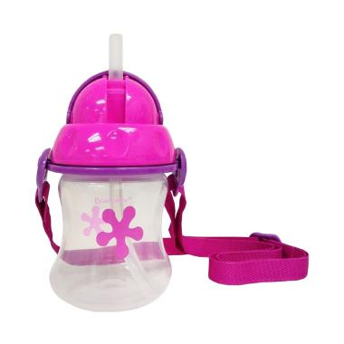 Lucky Baby LB 1243 Minee Strawbottle - Pink Botol Minum