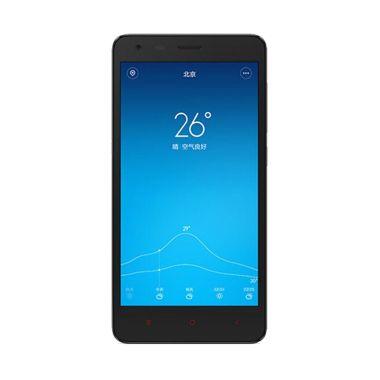 Xiaomi Redmi 2 Black Smartphone [Distributor 1 Tahun]