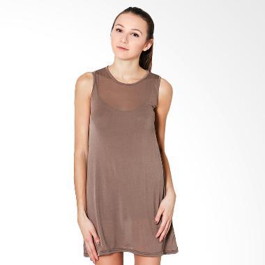 Lucuna Basic Brownie Youcansee Sleepwear Baju Tidur Wanita