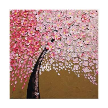 Lukisanku D1-17 Lukisan Bunga .