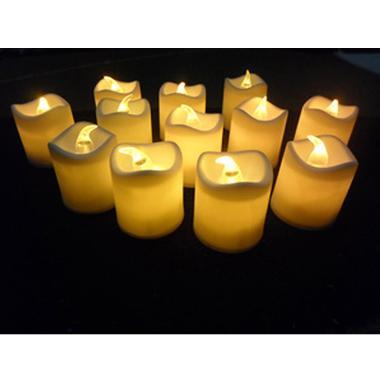 Lampu Lilin Elektrik - Putih