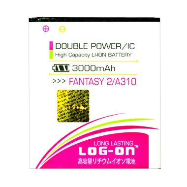 Log On Double Power Battery for MITO Fantasy 2 A310 .