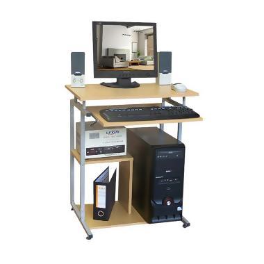 harga FS ICT - Lunar Office HUGA 904 Meja Komputer RB + Rak Bawah [Khusus Jabodetabek] Blibli.com