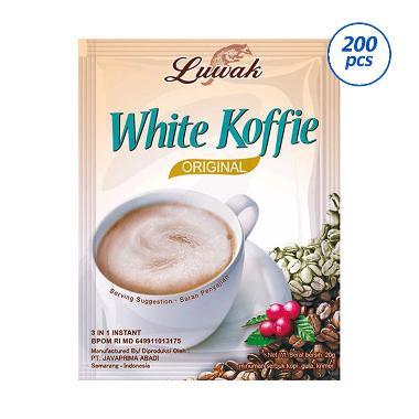 Luwak White Coffee Kopi Instant [1 Karton/200 Sachet]