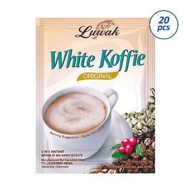 Luwak White Coffee Kopi Instant [20 Sachet]