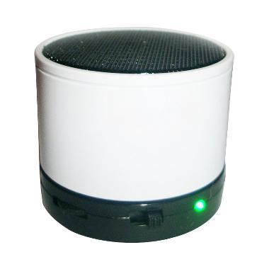 M-Tech Cube White Bluetooth Speaker Portable