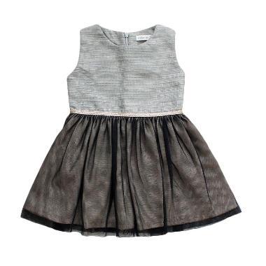 Madison Tots Fairy Dress in Noir Dress Anak