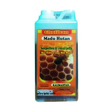 PROMO Madu Gholiban Hutan Kalimantan Plus Bee Pollen Royal Jelly Madu Murni [1 kg]