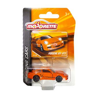 Majorette Racing Cars Porsche 911 GT3 Mainan Anak - Orange