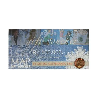 MAP - Paket Belanja MAP Physic Voucher senilai Rp. 500.000 [@100.000]