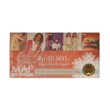 MAP - Paket Belanja MAP Physic Voucher senilai Rp. 500.000 [@50.000]