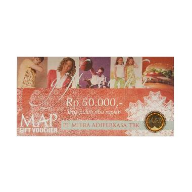 harga MAP - Paket Belanja MAP Physic Voucher senilai Rp. 800.000 [16 @50.000] Blibli.com